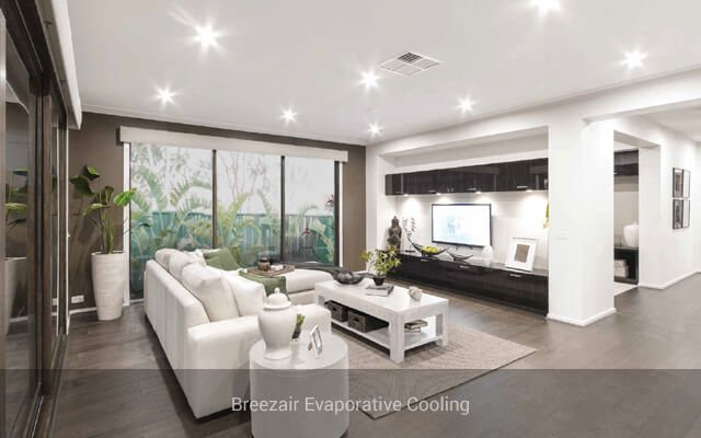 Ducted Evaporative Cooling Amp Air Conditioning Systems In