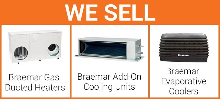 Braemar air conditioning heating in melbourne for Innovative heating and air conditioning