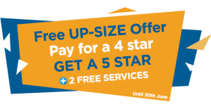 Free Gas Ducted Upsize Promotion