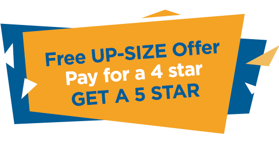 Free 4 Star to 5 Star Gas Ducted Heater Upgrade Promotion